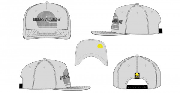 Riders Academy Team Adjustable Cap