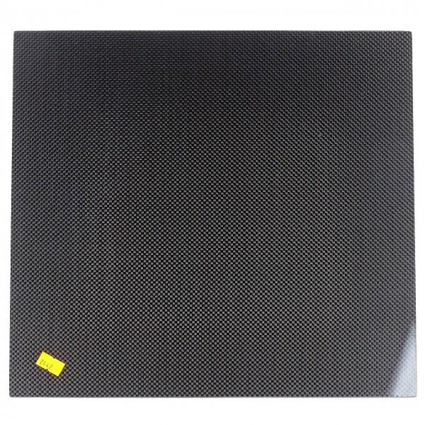 Kohlefaserplatte Sicht 2mm 340mmx315mm