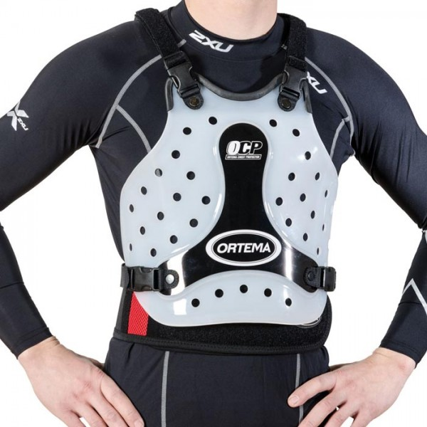 OCP - ORTEMA Brust Protektor mit Gurtsystem carbon-optik L - XL Herren
