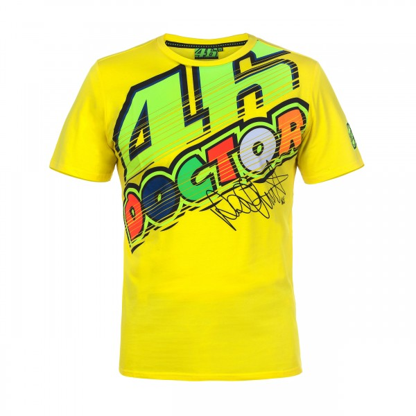 "Valentino Rossi VR46 T-Shirt ""The Doctor"""