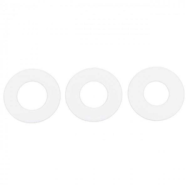 Teflonersatzscheiben (3 Stück)