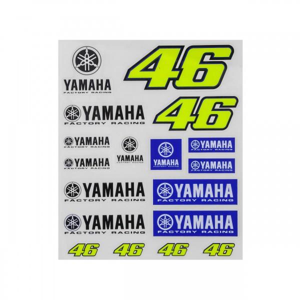 Yamaha VR46 Aufkleberset groß