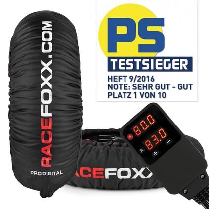 """RACEFOXX Reifenwärmer """"PRO DIGITAL""""+Koffer"""