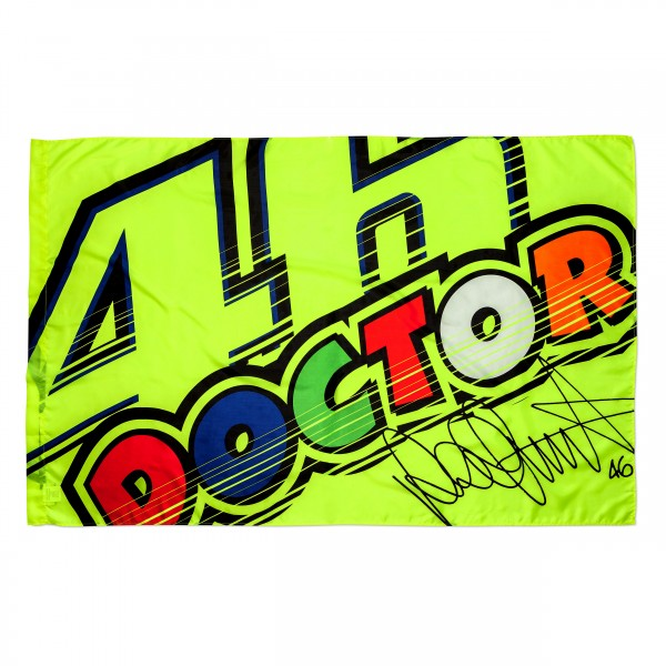 VR46 The Doctor Flagge