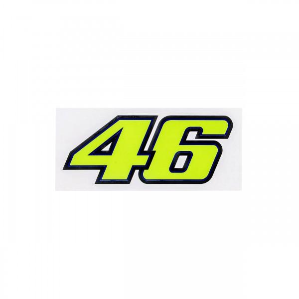 Valentino Rossi 46 Aufkleber Startnummer